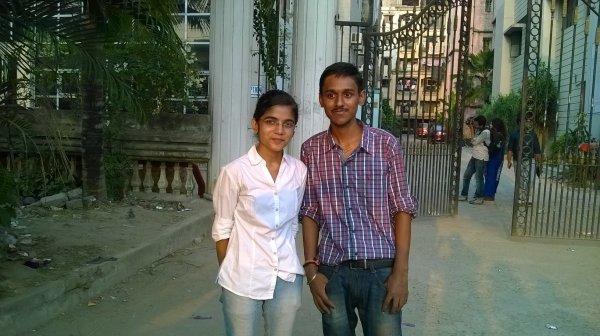 Chhotu with Chhoti