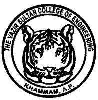 THE VAZIR SULTAN COLLEGE OF ENGINEERING (TVSCE) Khammam