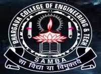 BHARGAVA COLLEGE OF ENGINEERING AND TECHNOLOGY (BCET) Samba