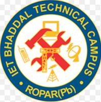 IET Bhaddal Technical Campus (IET BHADDAL) Ropar