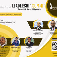 IIT Kharagpur presents the first session of Leadership Summit 2020!